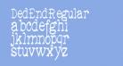 DedEnd-Regular