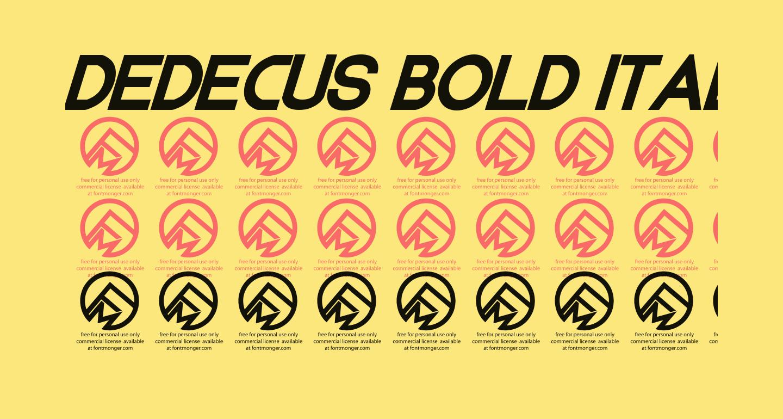 Dedecus Bold Italic