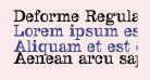 Deforme-Regularreduced