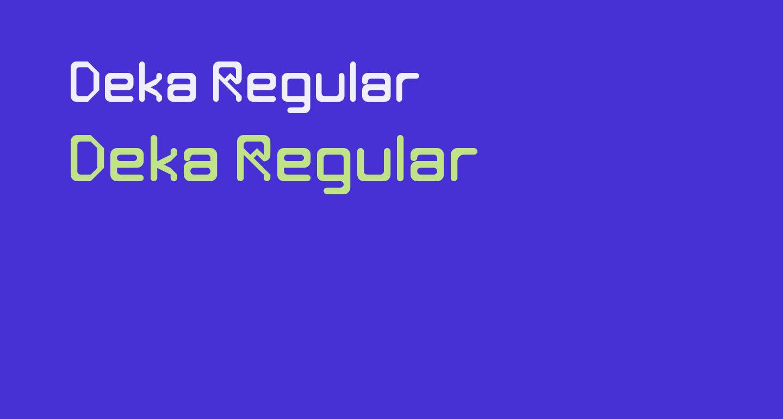 Deka Regular