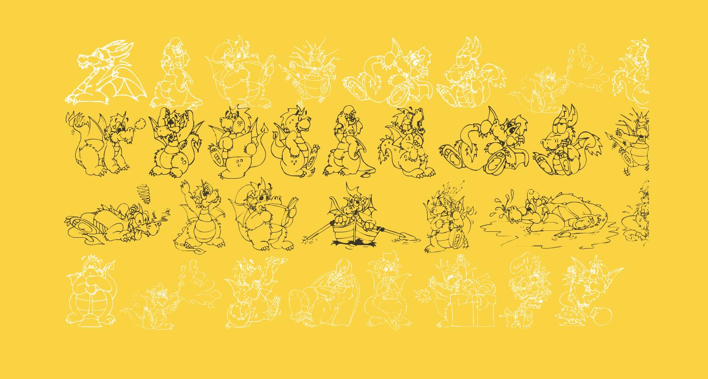 Delightful Lil Dragons