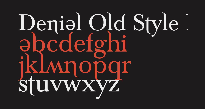 Denial Old Style Regular