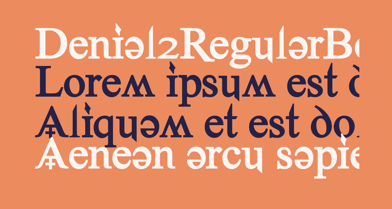 Denial2RegularBold