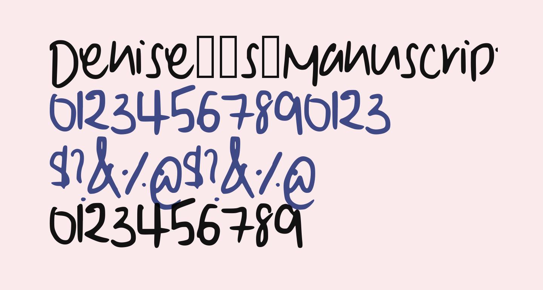 Denise__s_Manuscript