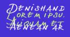Denishandwritting