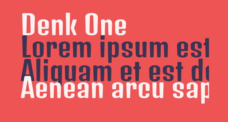 Denk One