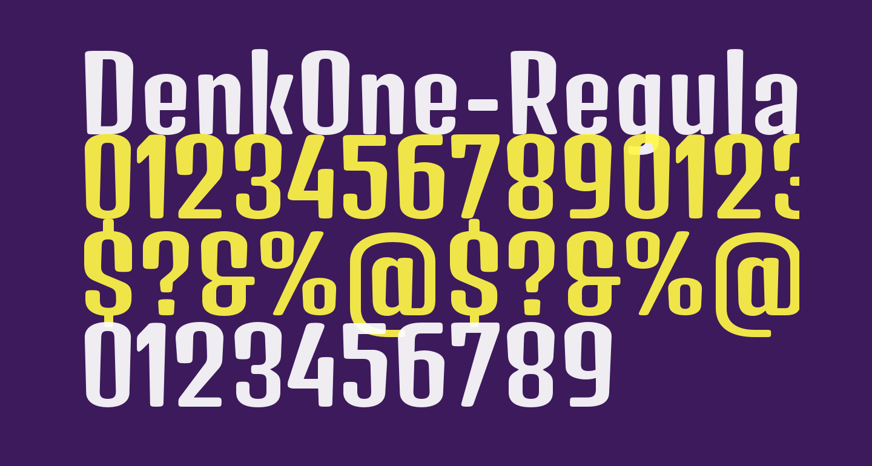 DenkOne-Regular