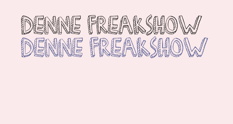 Denne Freakshow