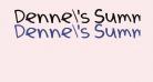 Denne's Summer
