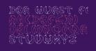 Der Wurst Font