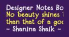Designer Notes Bold