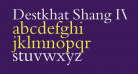 Destkhat Shang IV