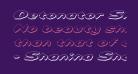 Detonator Shadow Italic
