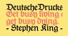 DeutscheDruckschrift