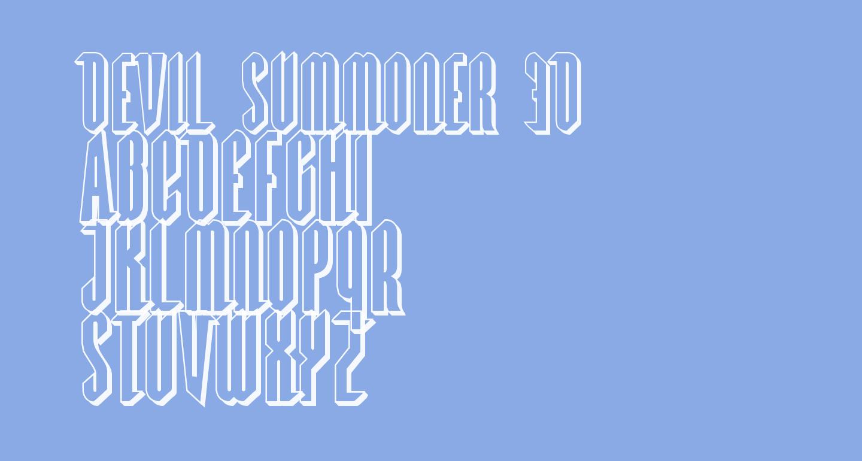 Devil Summoner 3D