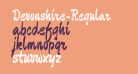 Devonshire-Regular