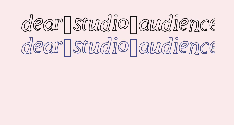 dear_studio_audience