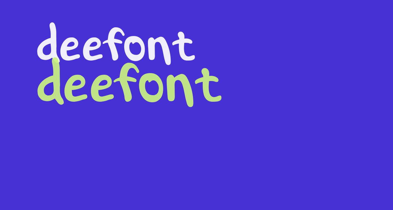 deefont
