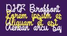 DHF Broffont Script