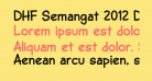 DHF Semangat 2012 Demo Bold