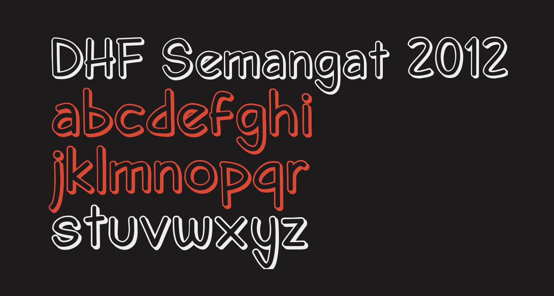 DHF Semangat 2012 Shadow Demo
