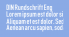 DIN Rundschrift Eng