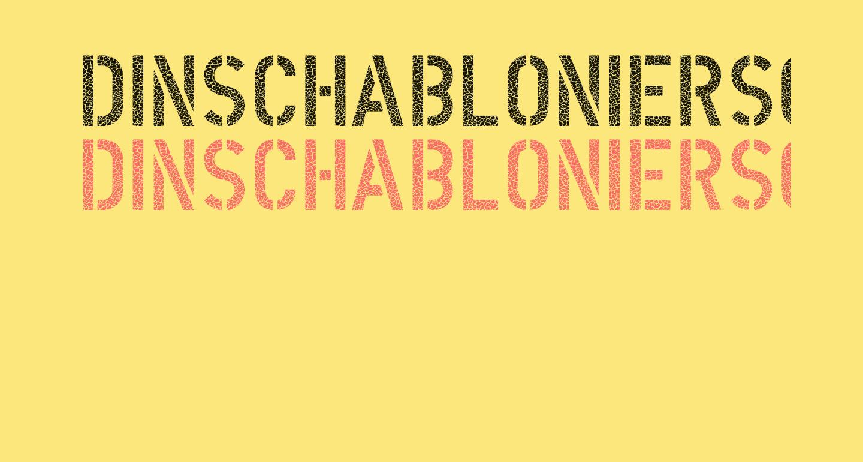 DINSchablonierschriftCracked