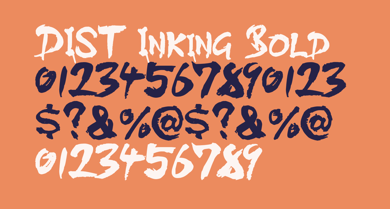 DIST Inking Bold