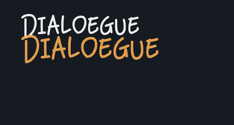 Dialoegue