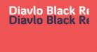 Diavlo Black Regular