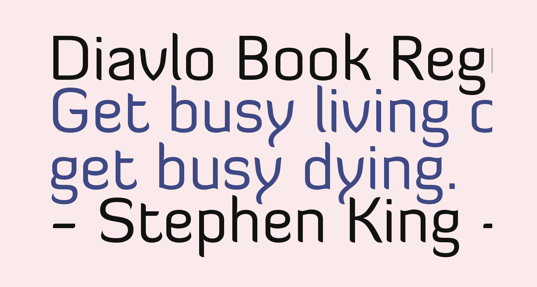 Diavlo Book Regular