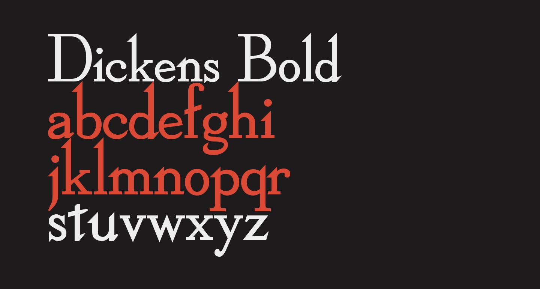 Dickens Bold