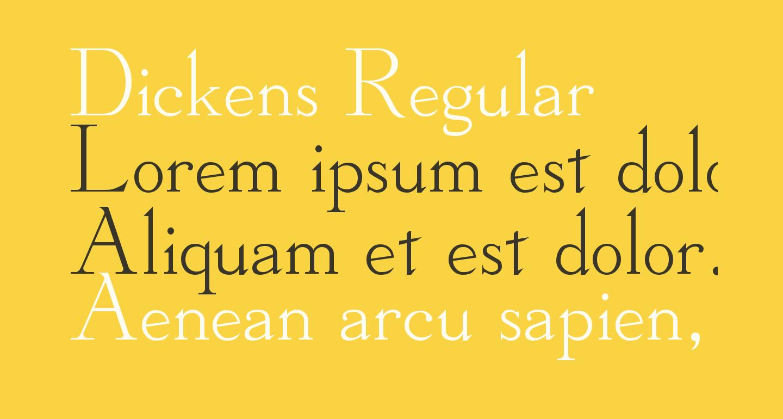 Dickens Regular