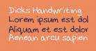 Dicks Handwriting