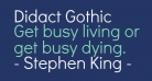 Didact Gothic