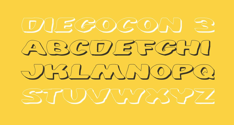 DiegoCon 3D