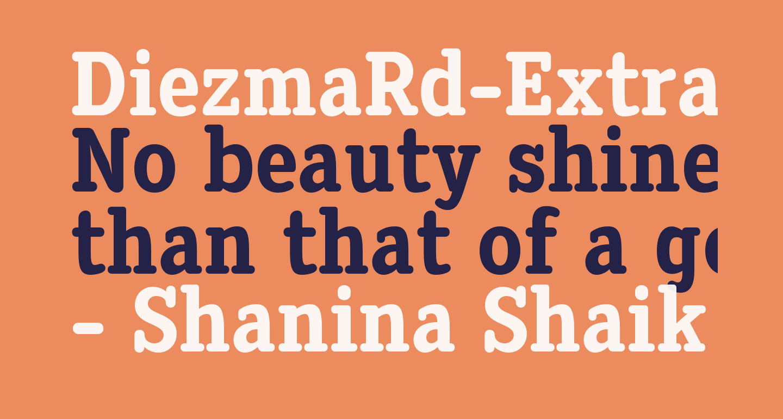 DiezmaRd-ExtraBold