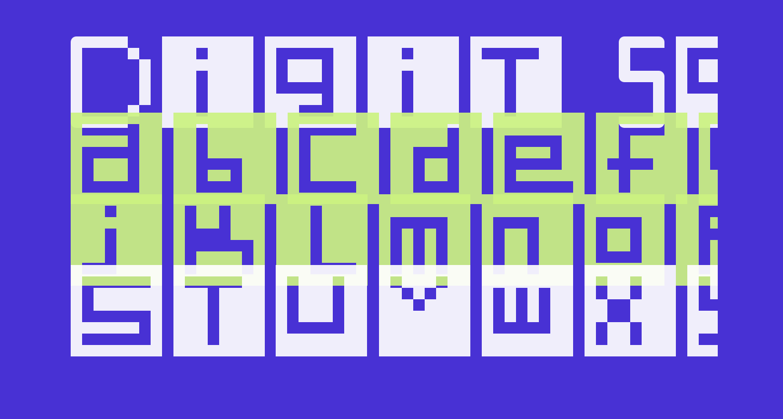 Digit Square Regular