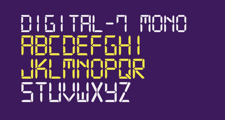 Digital-7 Mono