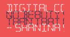 Digital Computer Light Italic