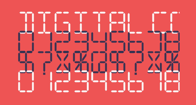 Digital Computer Semibold Italic