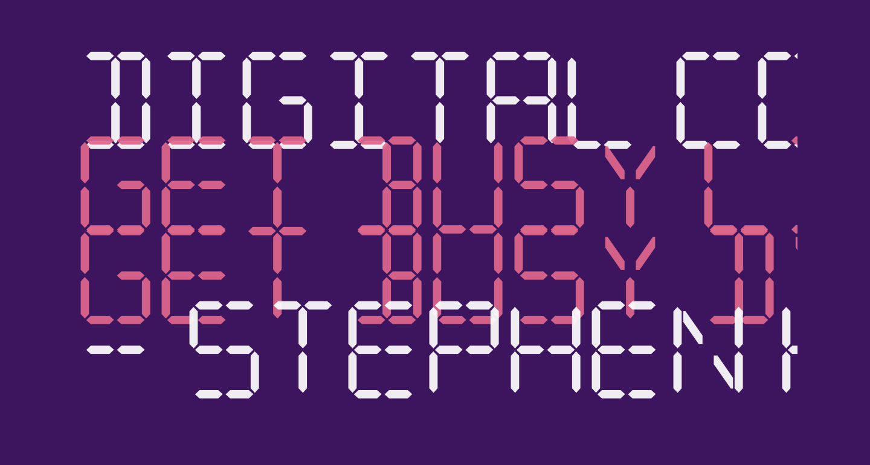Digital Computer Semibold