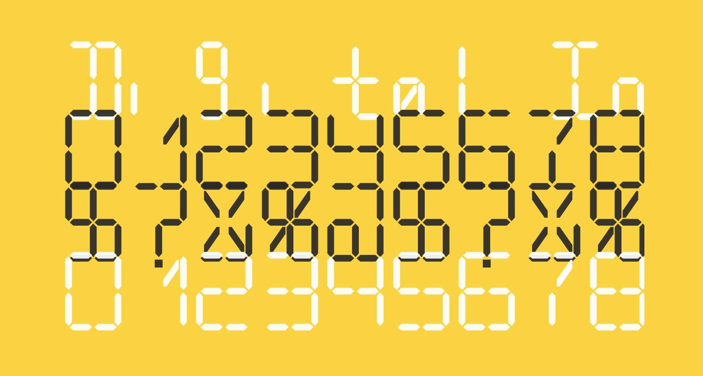 Digital Internet Light Italic