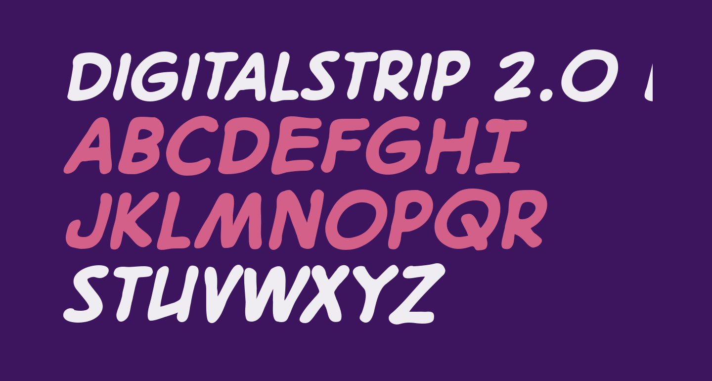 DigitalStrip 2.0 BB Bold