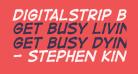 DigitalStrip BB Bold Italic