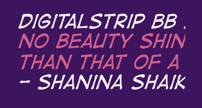 DigitalStrip BB Italic
