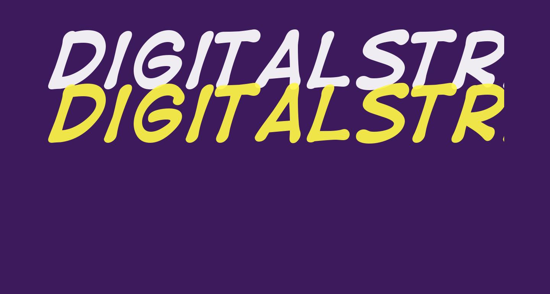 DigitalStrip  Bold