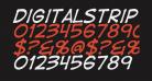DigitalStrip  Italic