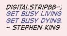 DigitalStripBB-Italic
