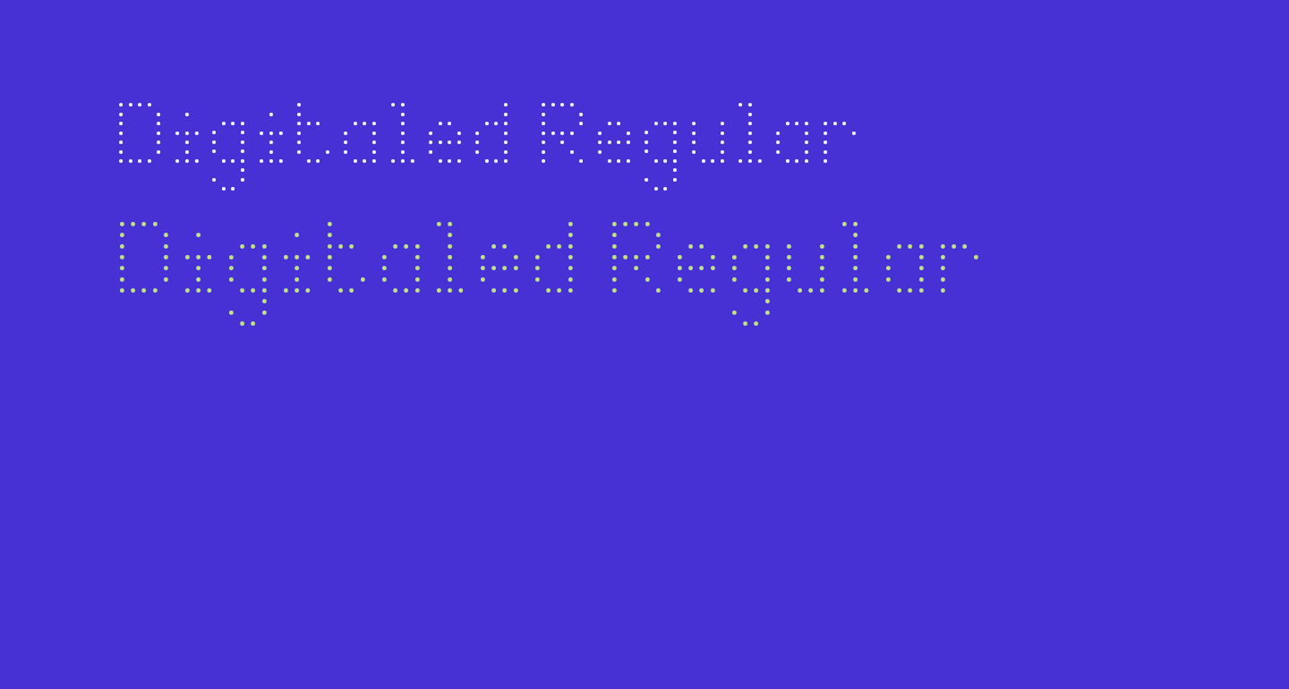 Digitaled Regular